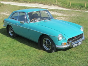 1972 MG B GT (Series 2, tax exempt)