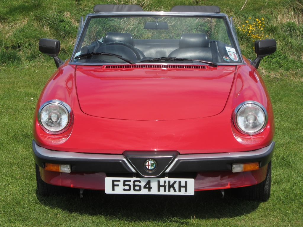 Welcome To Sussex Sports Cars Sales Of Classic By Gerry Wadman 1989 Alfa Romeo Spider Coverted Rhd Lombarda