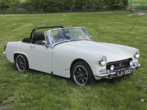 1969 MG Midget 1380 by Frontline