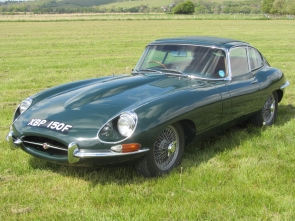 1968 Jaguar E-Type fixed head coupe 4.2 5 speed gearbox from Eagle