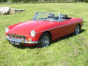 1969 MG B Roadster large history file