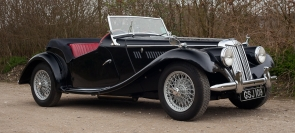 1953 MG TF 1250 upgraded to 1500 spec