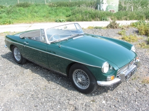 1966 MG B Roadster with overdrive