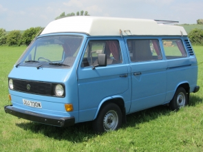 1980 Volkswagen Camper only 74,000 miles from new