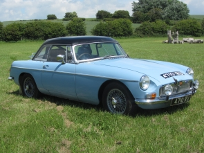 1963 MGB historic road rally car. Ex Monte Carlo Challenge