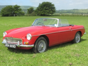 1966 MG B Roadster, 1 family owner from new!