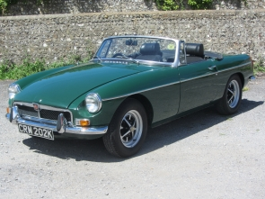 1971 MG B Roadster, 36,000 miles from new, tax exempt