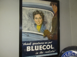 BLUECOL FRAMED POSTER