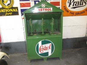 LARGE CASTROL OIL DISPENCER