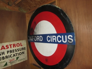LONDON UNDERGROUND FILM PROP SIGN