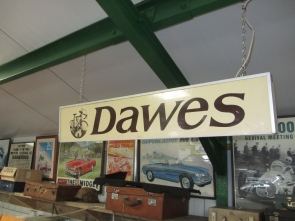 DAWES CYCLES LIGHT BOX SIGN