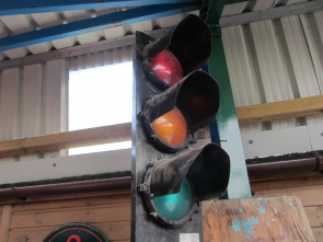 VINTAGE TRAFFIC LIGHTS