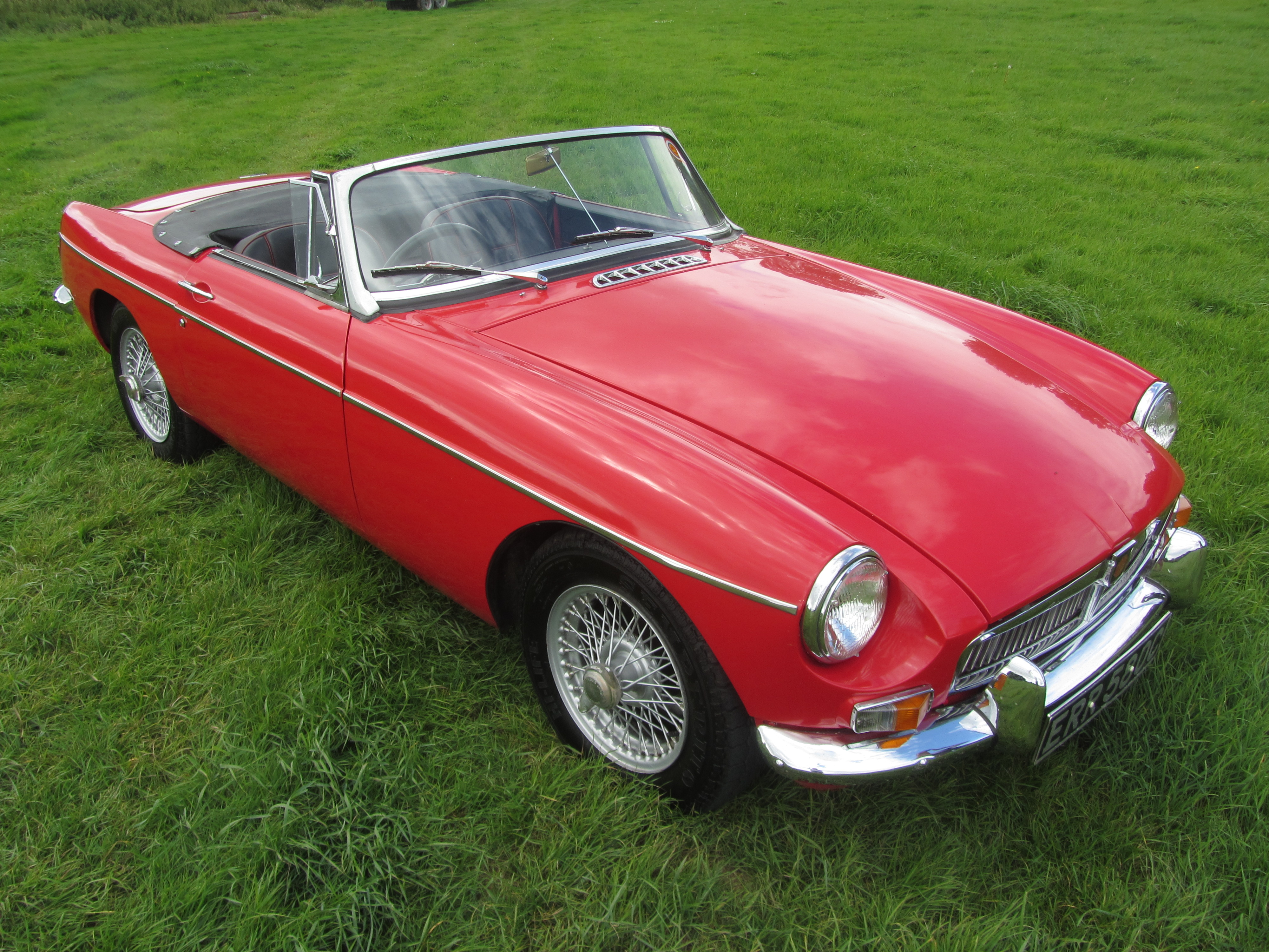 1965 MGB with Heritage shell for sale