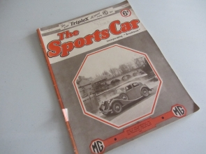 MG THE SPORTS CAR MAGAZINES