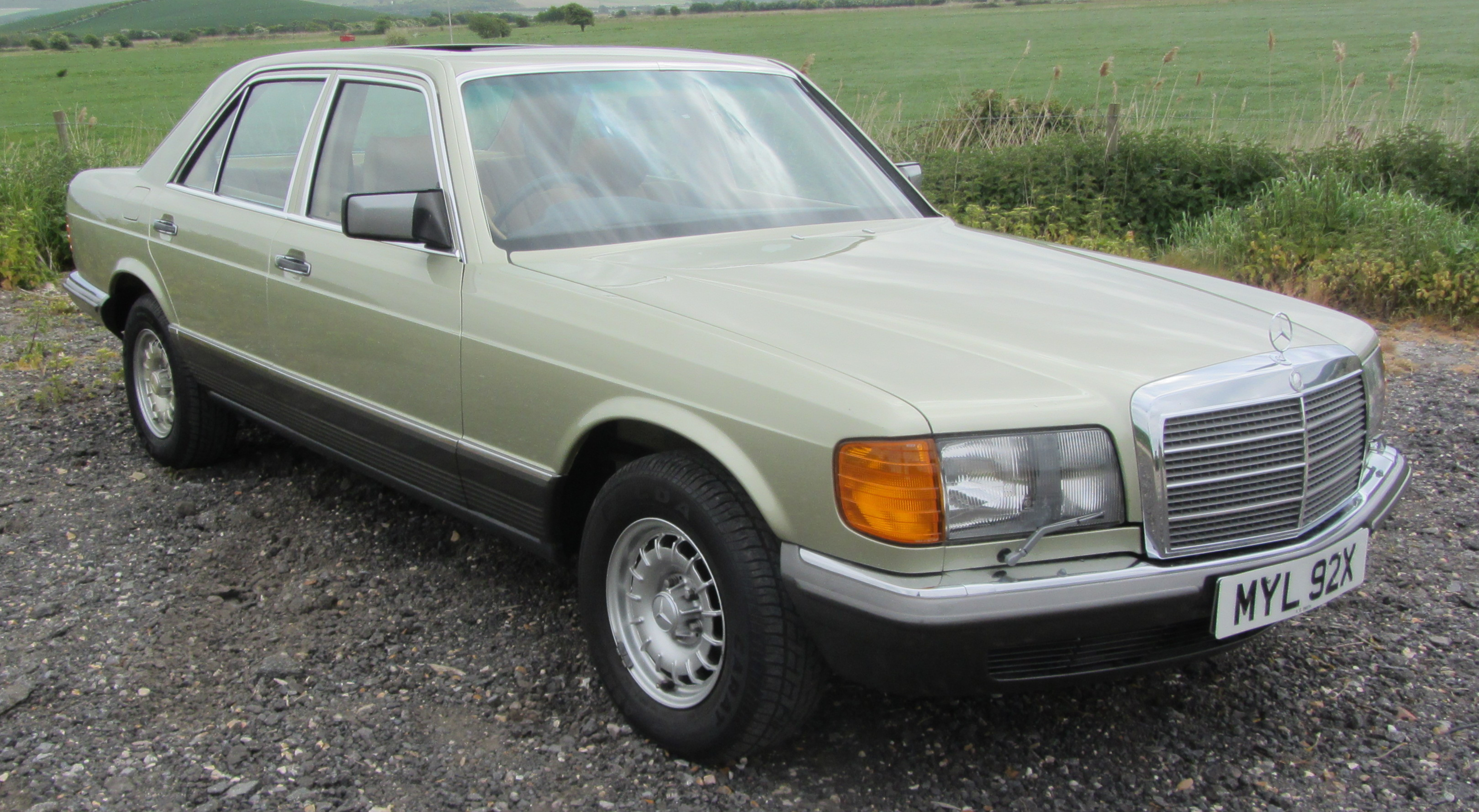Welcome to sussex sports cars sales of classic cars by for Mercedes benz w126 for sale