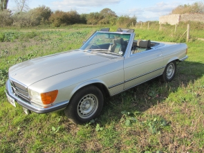 1977 Mercedes Benz 350SL, 46,000 miles from new, 1 owner