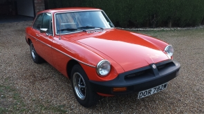 1981 MG B GT one owner for 33 years