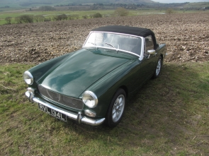 1972 MG Midget 1380cc 5 speed Heritage shell