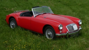 1957 MG A Roadster MK1 orient red