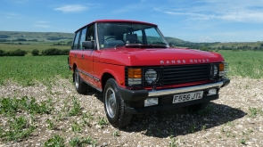 1988 Range Rover EFI with just 7500 miles from new