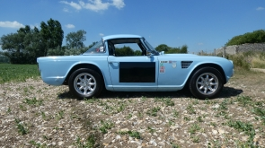 1962 Triumph TR4 Works Rally Replica