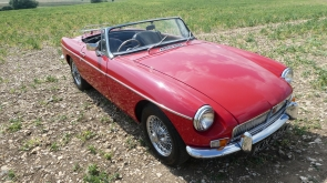 1970 MGB Roadster with Heritage Shell