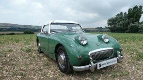 1959 Austin Healey Frogeye Sprite with Frontline upgrades