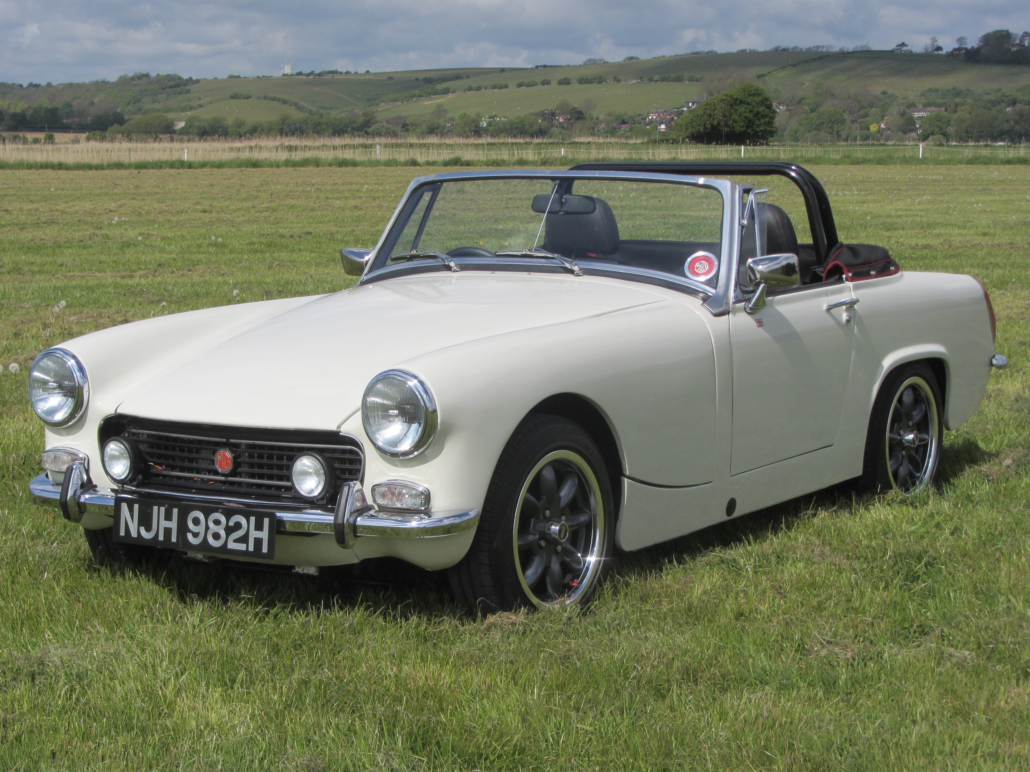 MG Midget complete build by Frontline MG 1380cc for sale