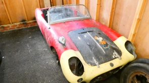 1960 Berkeley T60 Restoration Project with transferable Registration  Plate
