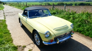 1968 MG C Roadster Automatic