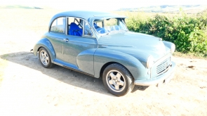 1958 Morris Minor Supercharged Competition Car