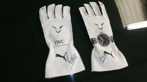 Lewis Hamilton Signed Racing Gloves