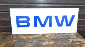 BMW DEALER SIGN PLASTIC