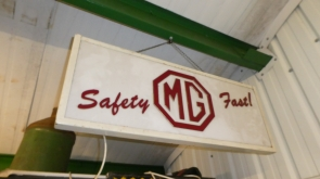 MG ILLUMINATED DEALER SIGN