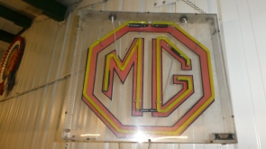 MG Dealer Neon Sign