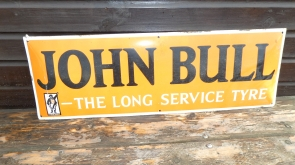 John Bull Rectangular Enamel Sign