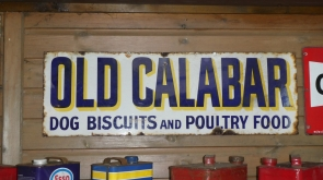 Old Calabar Enamel Sign
