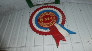 Large bmc Dealer Rosette