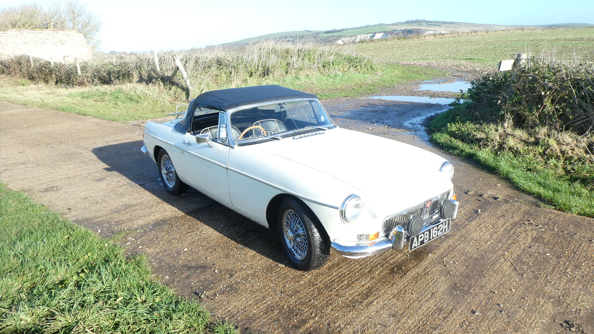 1969 MGB Roadster with Heritage Shell for sale