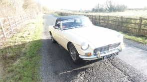 1966 MGB Roadster with just 60k miles from new
