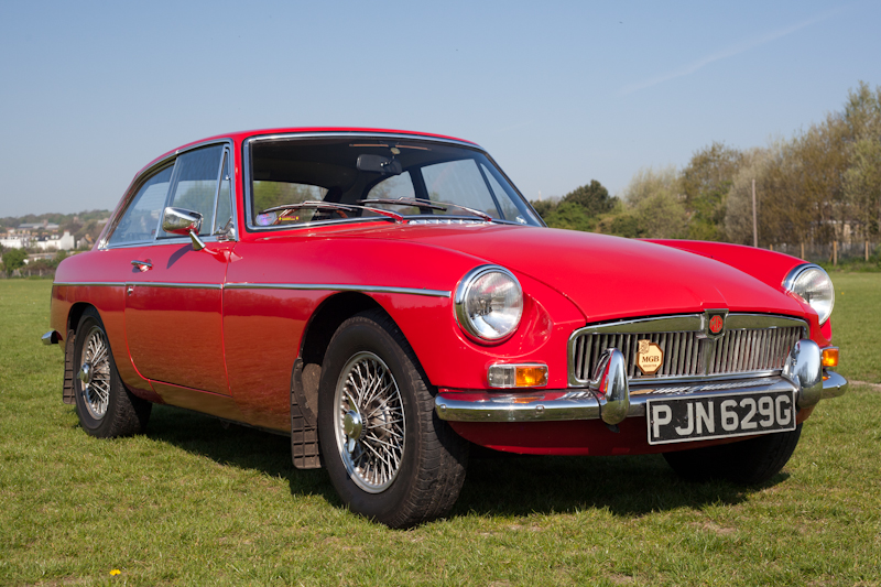 1969 MGB GT Series 1 with just 50k miles from new for sale