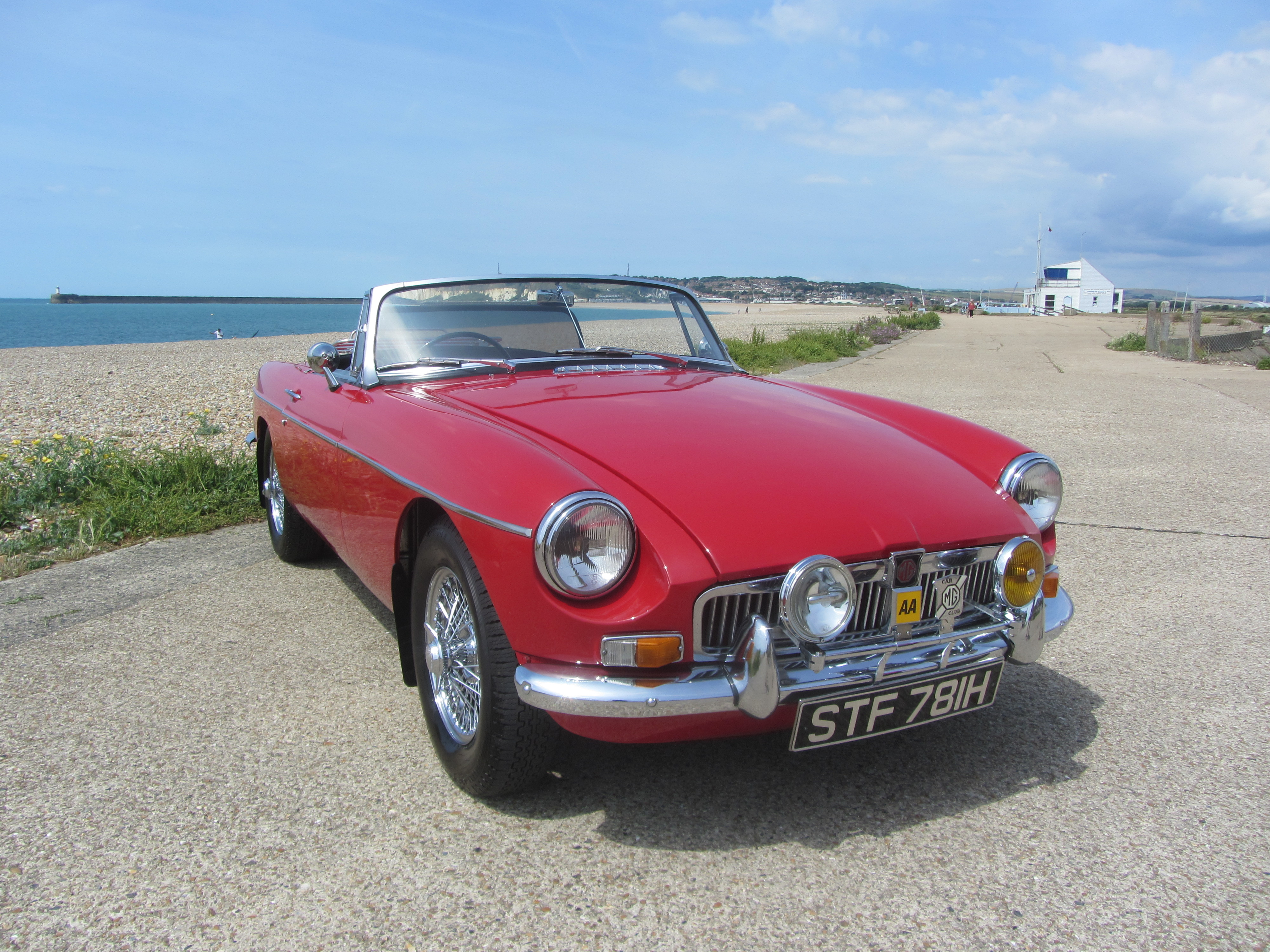 1969 MGB Roadster with Heritage Shell and recent new engine for sale