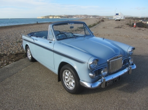1959 Sunbeam Rapier  Mk3 convertible
