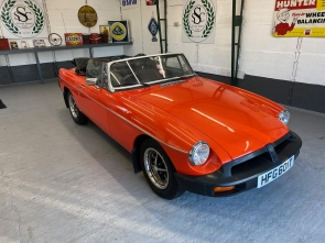 1978 MGB Roadster with Power Steering